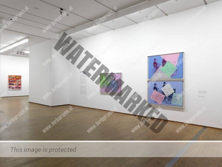 Ausstellungsfotografie Andy Warhol